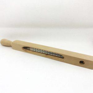 termometr drewniany || TOMEX - Dobre Wyroby || Sklep Masarski i Wędzarniczy ||