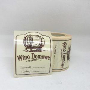 etykieta na wino || TOMEX - Dobre Wyroby || Sklep Masarski i Wędzarniczy ||