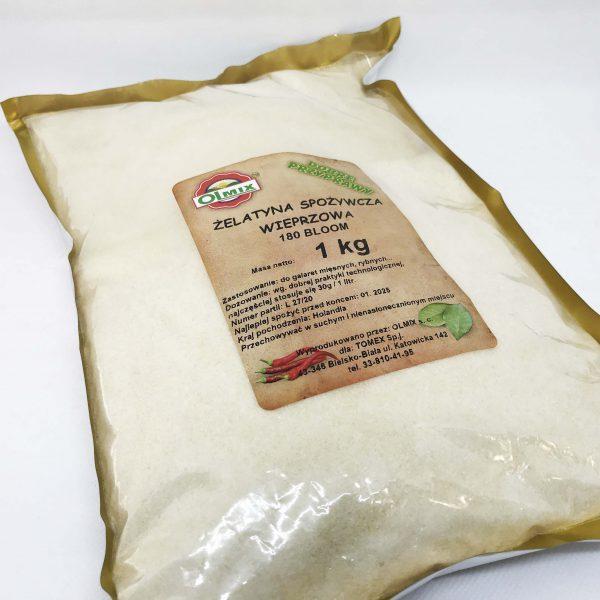 żelatyna spożywcza wieprzowa || TOMEX - Dobre Wyroby || Sklep Masarski i Wędzarniczy ||